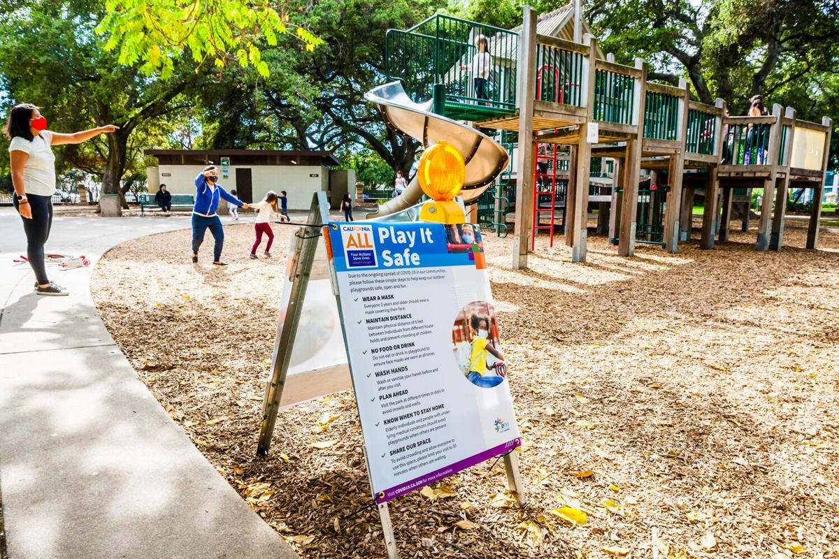 San Mateo Central Park playground