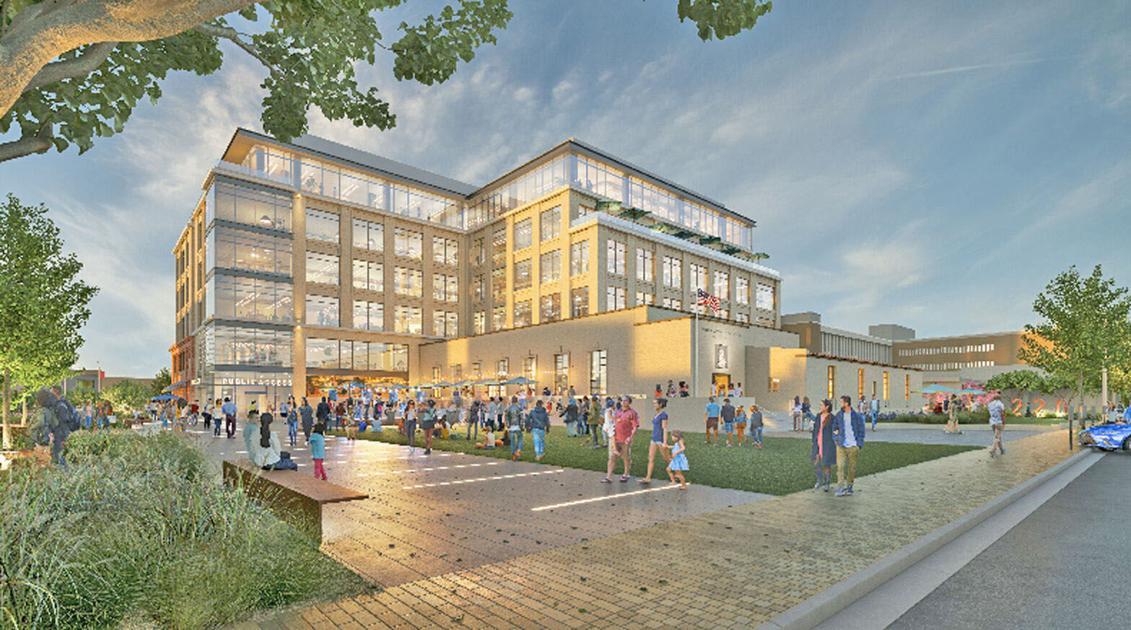 Burlingame designs new town square
