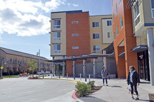 Foster Square comes to life: Senior housing community filling, construction continues