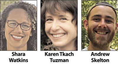 Shara Watkins, Karen Tkach Tuzman and Andrew Skelton
