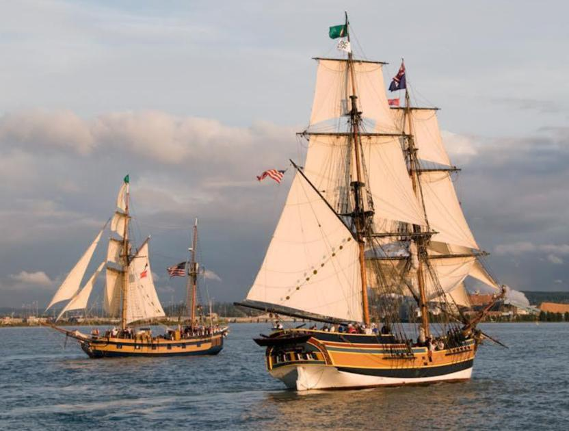 Redwood City hosts tall ships