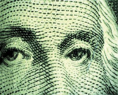 Daily journal dollar bill generic image