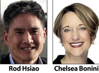 Rod Hsiao and Chelsea Bonini