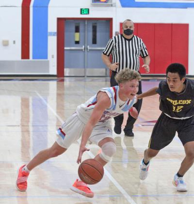 Hillsdale basketball-Carson
