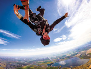 Jumping toward recovery: Redwood City woman works through grief while setting skydiving records