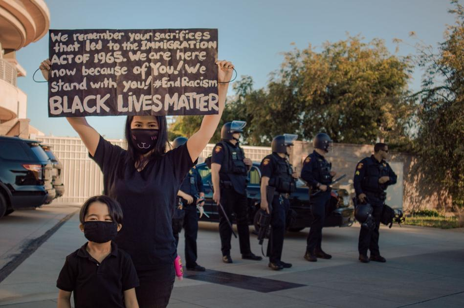 Concern over police response to San Mateo's peaceful protest