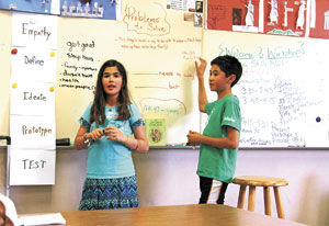 Learning by design: North Star Academy students work with Workshop Education
