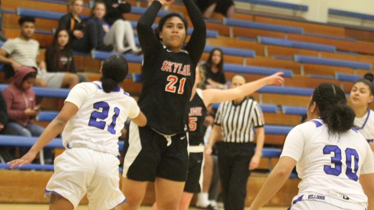 From the sports archives: Skyline College women's basketball takes down College of San Mateo