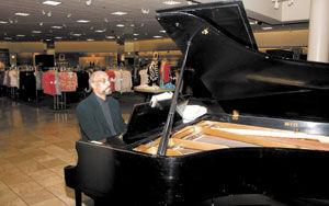 Piano man loves to teach