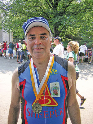 Running, swimming, biking for a cause