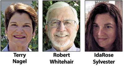 Terry Nagel,  Robert Whitehair and IdaRose Sylvester