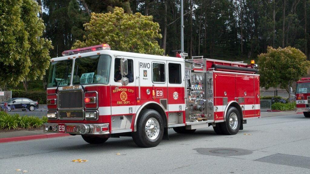 Redwood City saves Fire Engine 9