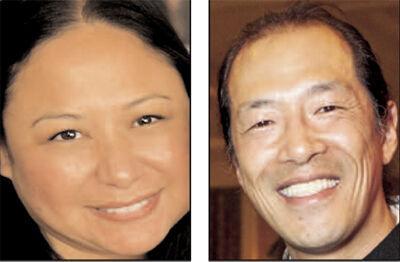 Christine Padilla and Ted Fang