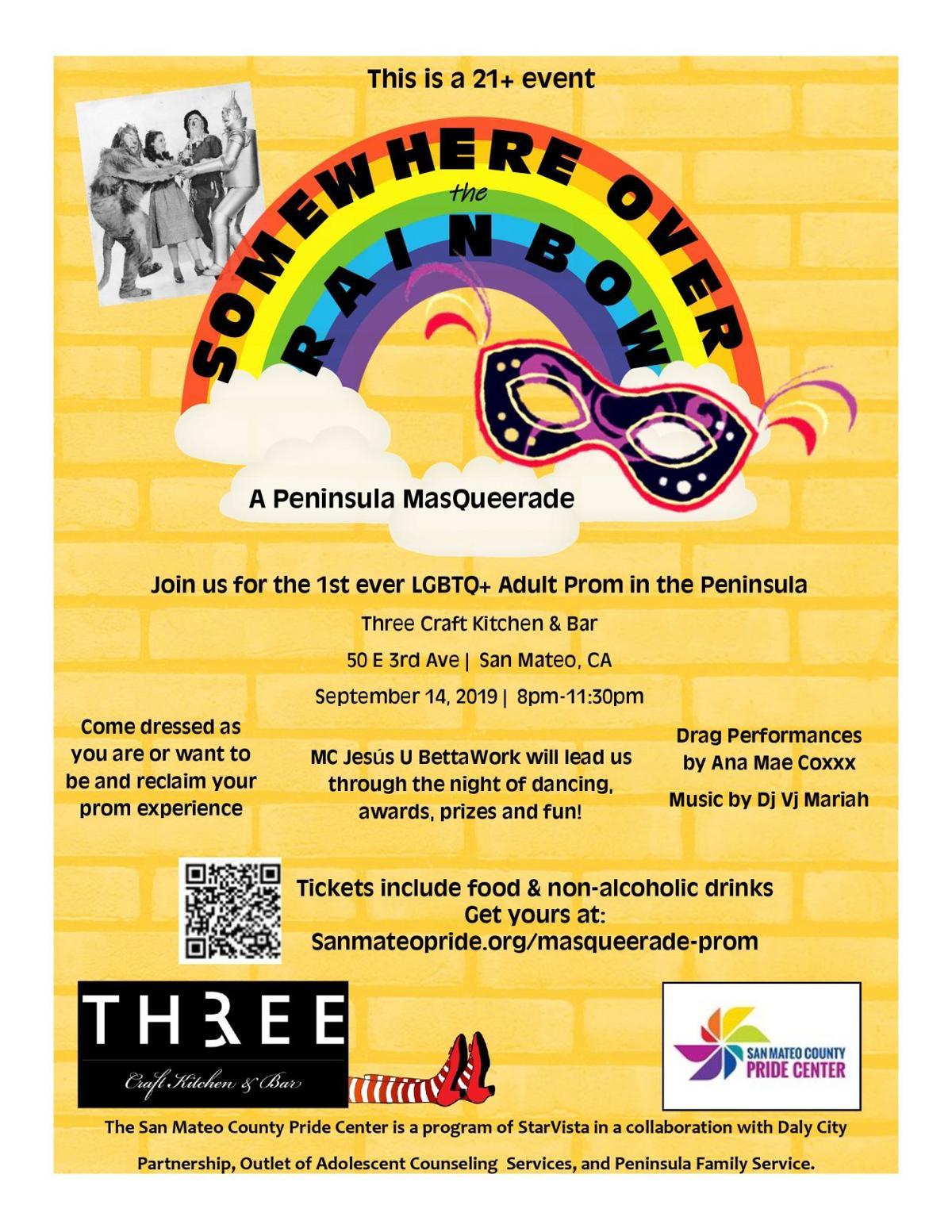Somewhere Over the Rainbow -- Flyer