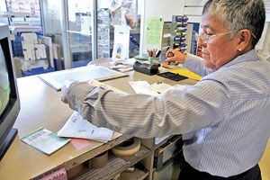 Post office marks 150 years