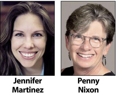 Jennifer Martinez and Penny Nixon