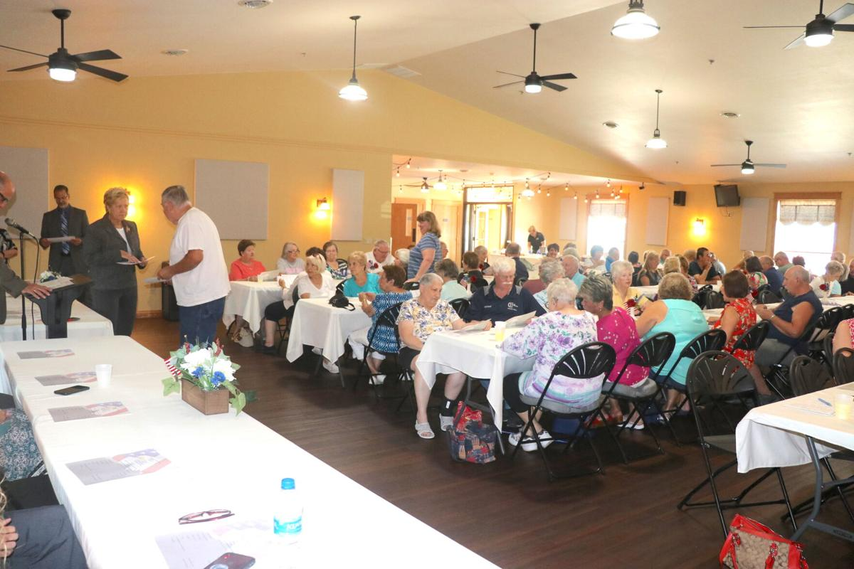 Election poll workers luncheon