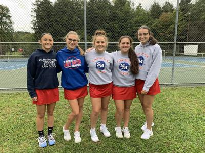 9-23 SMA tennis seniors