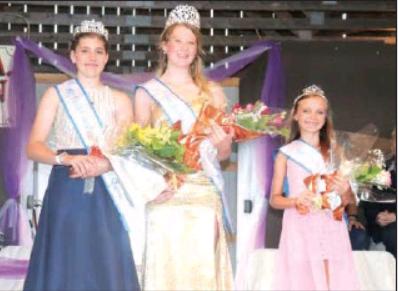 2021 Elk County Fair Queen Court