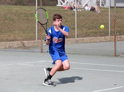 4-19 SMA boys tennis