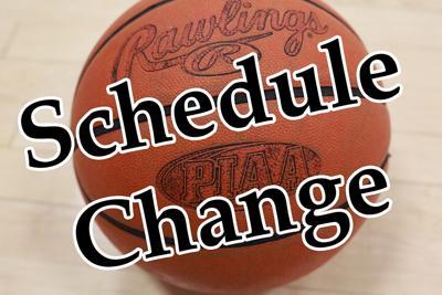 basketball schedule change