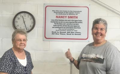 Agape Center department dedicated to Nancy Smith