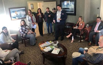 Local attorneys host networking meeting