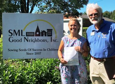 Moneta Lions give to SML Good Neighbors
