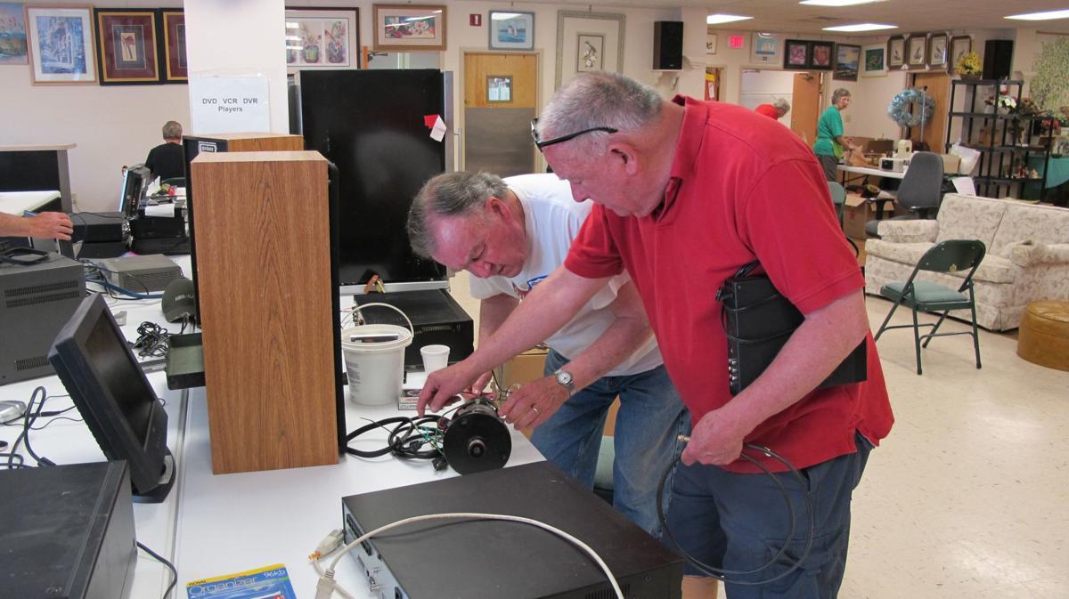 Joyous Junque electronics inspection