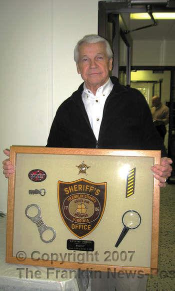 Overton, Franklin County's longest-tenured sheriff, dies