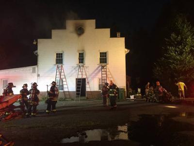 Stewartsville Fire