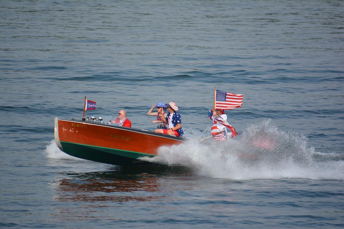 July 4th boat parade at SML