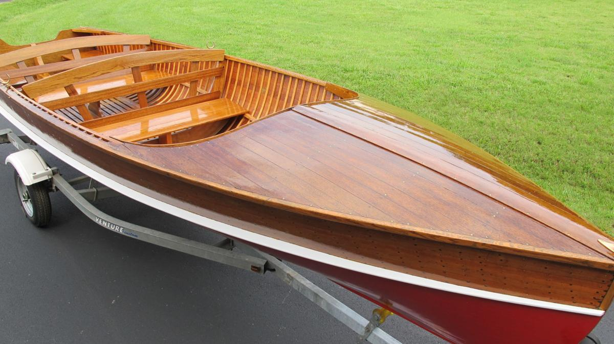 Lake residents restore antique boat for upcoming show ...