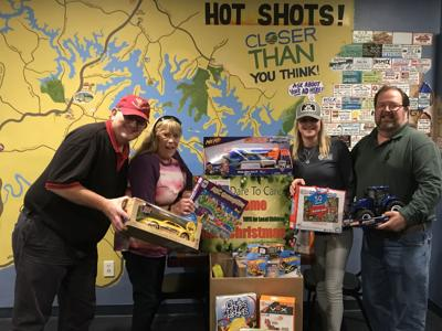 Poker players collect toys for local kids