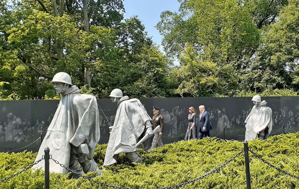 Veteran participates in 70th anniversary of Korean War