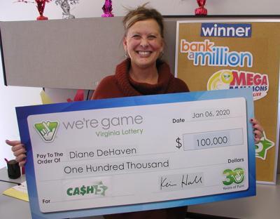 Diane DeHaven lottery winner
