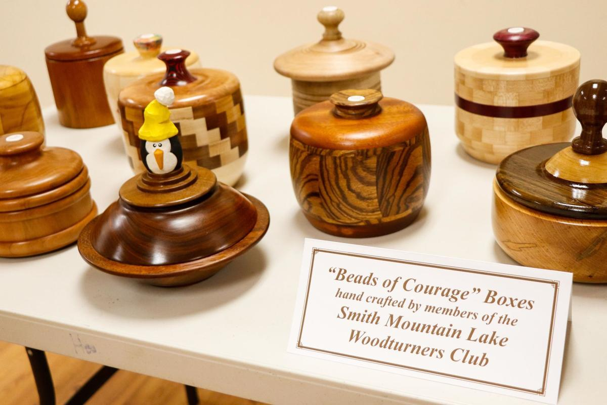 SML Woodturners bead boxes