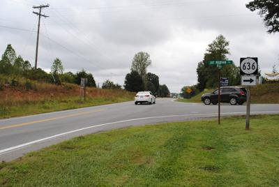 Lost Mountain Road and Virginia 122