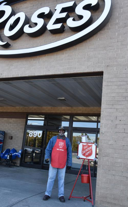 Salvation Army to place kettles at area stores