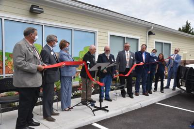 Franklin County Animal Shelter ribbon cutting