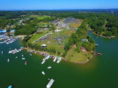 SML Wine Festival view overhead