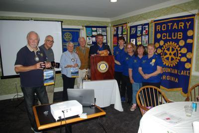 Australians visit Rotary Club of SML