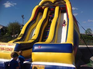 Hot Shots Giant Slide