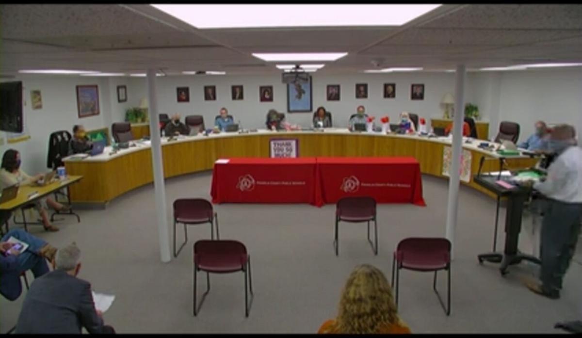 Franklin County school board screengrab