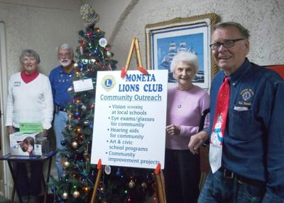 Moneta Lions bring Christmas cheer to English Meadows facility