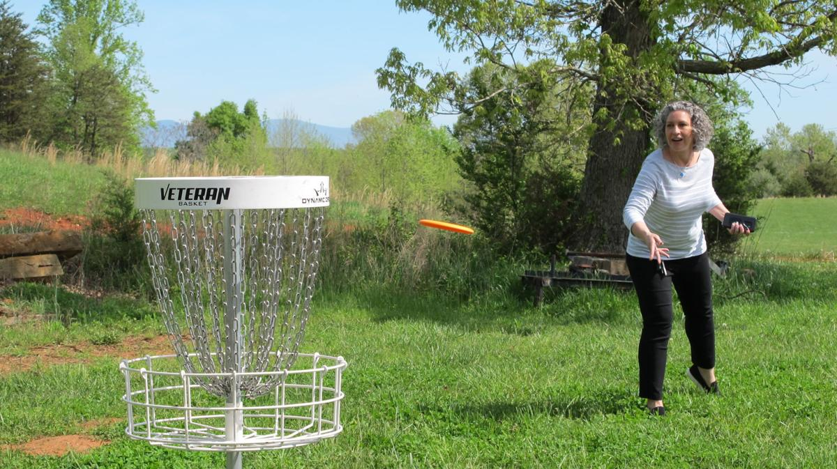Grand Opening Held For New Disc Golf Course Smith Mountain Lake Local News Smithmountainlake Com