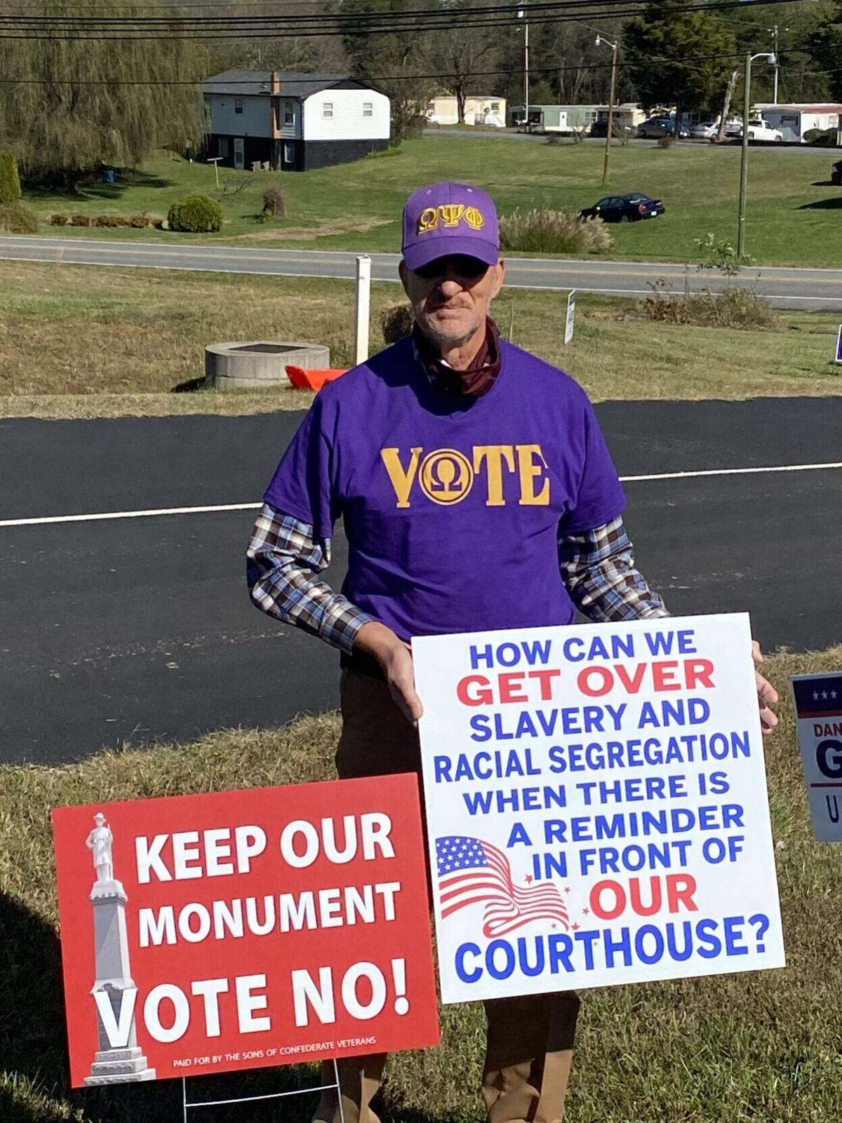 Franklin County activists vow to press on despite statue referendum results