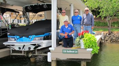 Rotary Club of Smith Mountain Lake dock signs