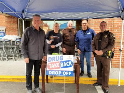 Drug take back program at Westlake