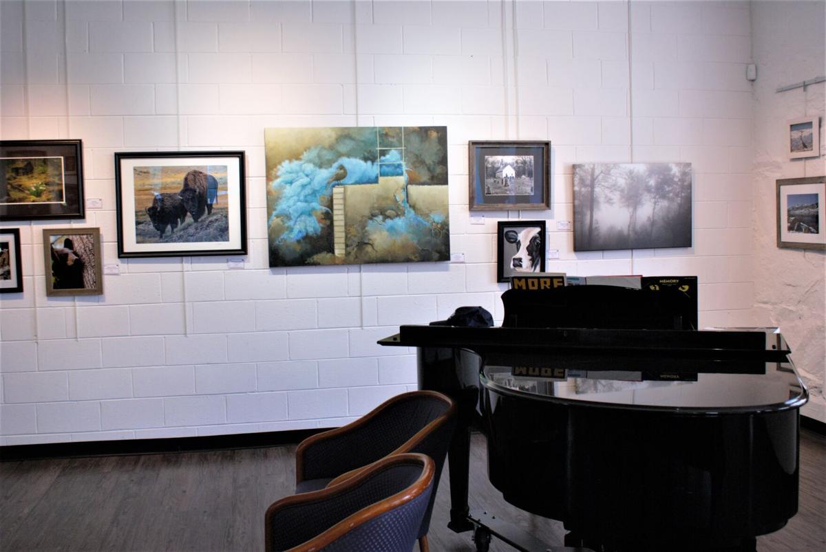 artwork and piano
